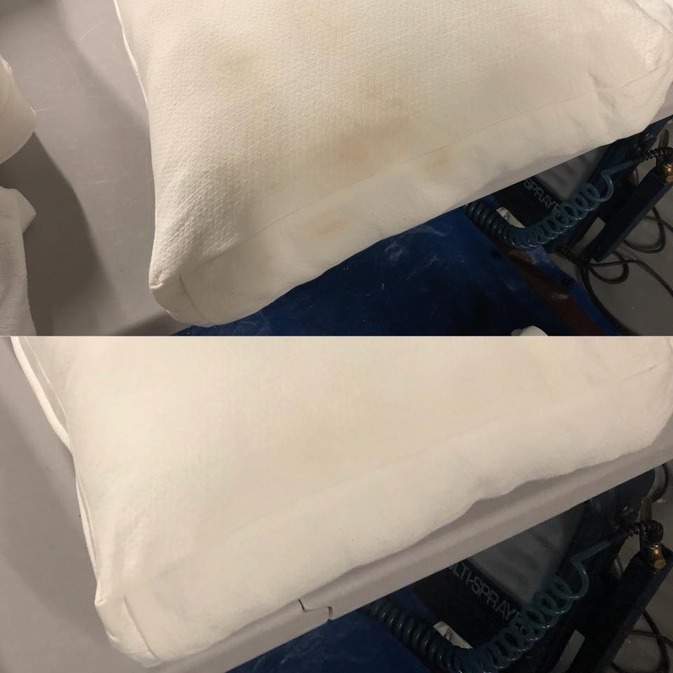 Pillow cleaning